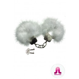 Menottes Plumes Blanches