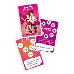 Jeu Kiss - Cartes à Gratter