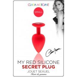My Red Silicone Secret Plug...